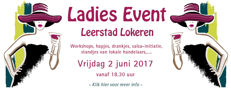 banner ladies event